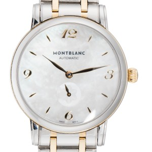 Montblanc Star Classique 107913 Two Tone 34mm Womens Watch