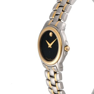 Movado 81-E49836 Stainless Steel and Gold Plated Quartz 28mm Womens Watch