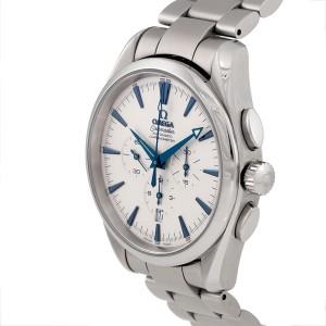 Omega Seamaster Broad Arrow Chronograph 2812 41mm Mens Watch