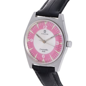 Omega Seamaster 600 Pink Dial 35mm Watch