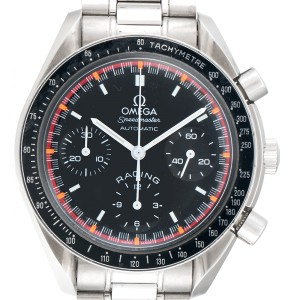 Omega Limited Edition Speedmaster Racing Schumacher 3518.50 Stainless Steel Black Dial 39mm Mens Watch