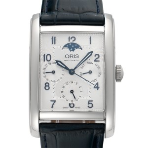 Oris Rectangular Date 01 582 7694 4031-07 5 24 25FC 32mm Mens Watch