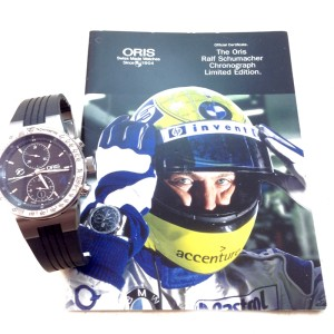 Oris Ralf Schumacher Limited Edition