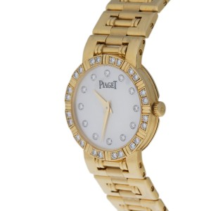 Piaget Dancer 80564 Mother Of Pearl Diamond Dial Ladies Watch