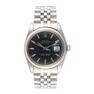 Rolex Datejust 1601 Stainless Steel 36mm Mens Watch