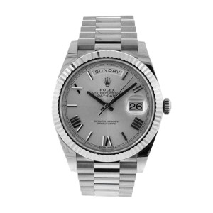 Rolex New Style 40mm Day Date White Gold 228239