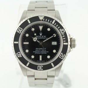 Rolex Sea-Dweller 16600 40mm Y Series Stainless Steel Watch