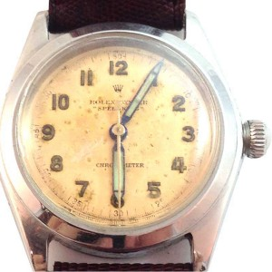 Vintage Rolex Oyster Speedking 30mm Chronometer Watch Circa 1967