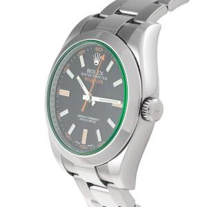 Rolex Milgauss 116400V Stainless Steel 40mm Mens Watch