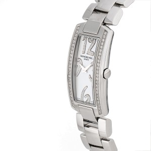 Raymond Weil Shine 1500-ST-105383 Stainless Steel & Diamond Quartz 19mm Womens Watch