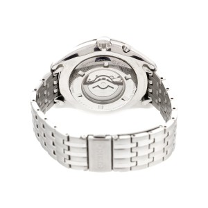 Seiko Mens Stainless Steel Kinetic Watch SRN055