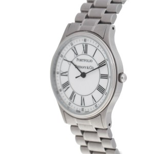 Tiffany & Co. Portfolio Stainless Steel Quartz 33mm Watch