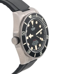 Tudor Pelagos LHD 25610TNL Automatic Black Dial Men's Watch