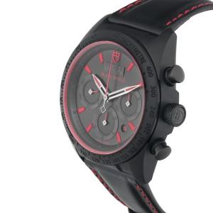 Tudor Fastrider 42000CR Black Shield 42mm Mens Watch