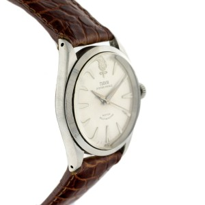 Tudor Prince Stainless Steel & Leather 34.5mm Watch