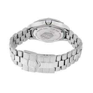 Tag Heuer Professional WK1210 Quartz Black Stainless Steel Bracelet 35mm Unisex Watch