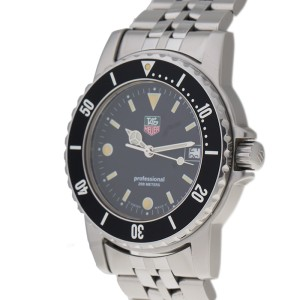 Tag Heuer Professional WD1210 Stainless Steel 35mm Watch