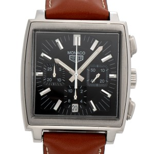 Tag Heuer Monaco CS2111 38.50mm Mens Watch