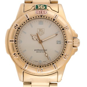 Tag Heuer Professional 200 994.706k Mens 40mm Watch