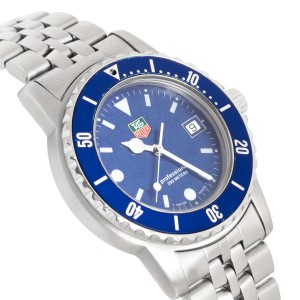 Tag Heuer Midsize Steel Blue Dial WO1214 Watch