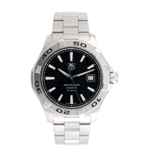 Tag Heuer AquaRacer WAP2010 Stainless Steel 41mm Mens Watch