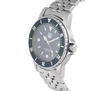 Tag Heuer WD1210-00 Professional Black Dial 40mm Mens Watch