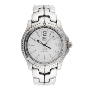 Tag Heuer Link WT1114 Stainless Steel Quartz 42mm Mens Watch
