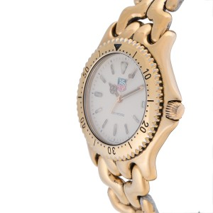 Tag Heuer S94.706M Gold Tone and Stainless Steel 37mm Mens Watch