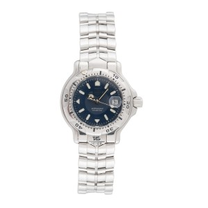 Tag Heuer WH1315-K1 Stainless Steel Blue Dial Quartz 28.5mm Womens Watch