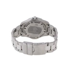 Tag Heuer Aquaracer WAB1112 Stainless Steel Blue Dial 41mm Watch