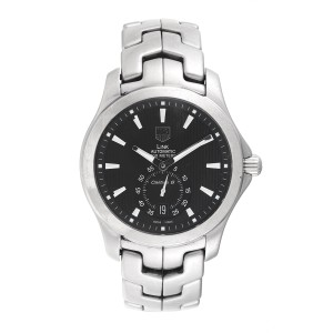 ac974203db8 Tag Heuer Link WJF211A Stainless Steel Automatic 39mm Mens Watch ...