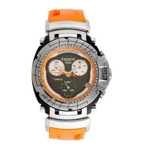Tissot T-Race T048.417.27.057.02 Stainless Steel & Rubber Quartz 43 mm Men's Watch