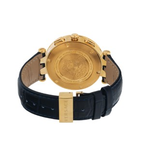 Versace Mens Watch 46mm V-Race GMT Alarm