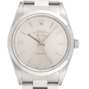 Rolex Airking Precision 14000M Stainless Steel Automatic 34mm Mens Watch