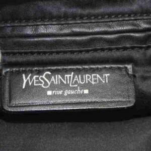 Saint Laurent Ysl Kahala 872920 Black Canvas Tote