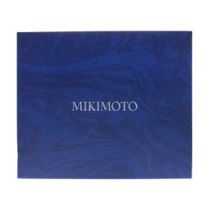 Mikimoto 18k White Gold & Pearls in Motion Diamond Necklace