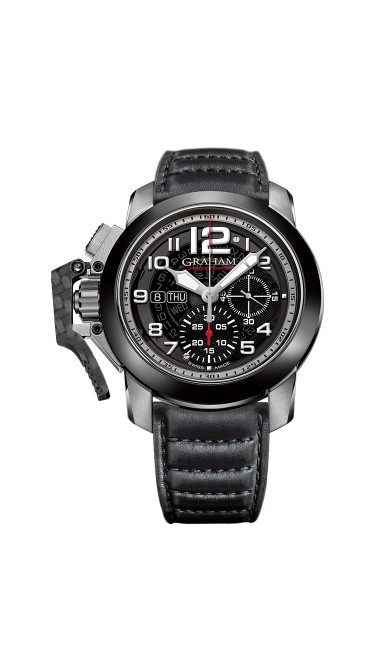 Graham Chronofighter Steel And Target 2CCAC.B33A.L143S 47mm Mens Watch