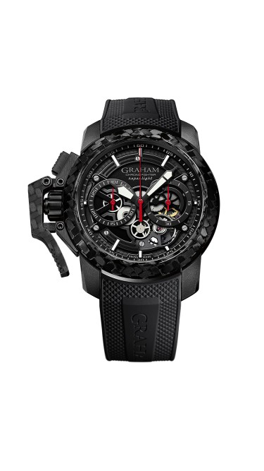 Graham Chronofigher Superlight 2CCBK.B25A.K92K 47mm Mens Watch
