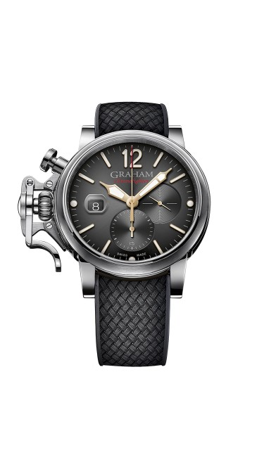 Graham Chronofighter Grand Vintage 2CVDS.B25A.K134S 47mm Mens Watch