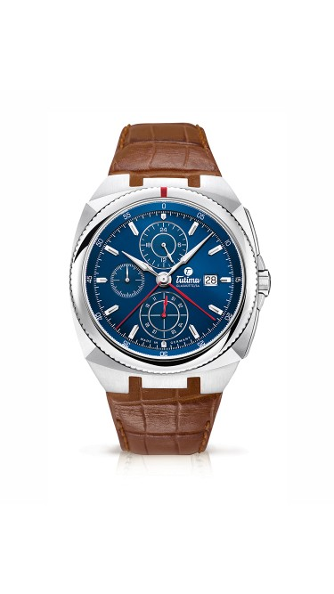 Tutima Saxon One Chronograph 6420-06 Brown Strap