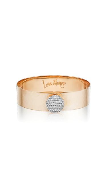 Rose Gold Diamond Large Infinity Love Always Bracelet