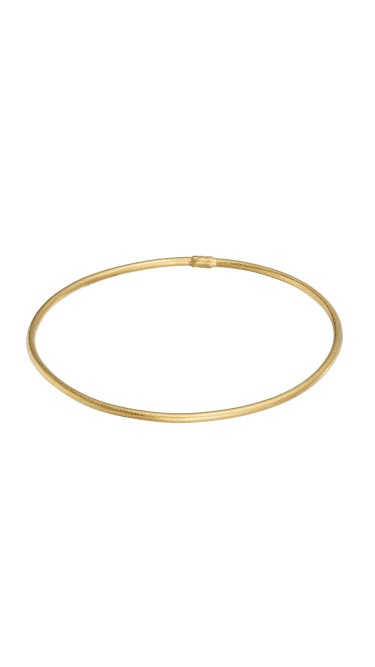 Yossi Harari Jewelry 24k Gold Jane Stack Bangle
