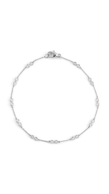 Lulu Jack 14k White Gold Bracelet