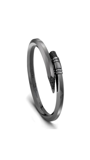 TZURI Black Gold Medium Signature Midnight Black Bracelet