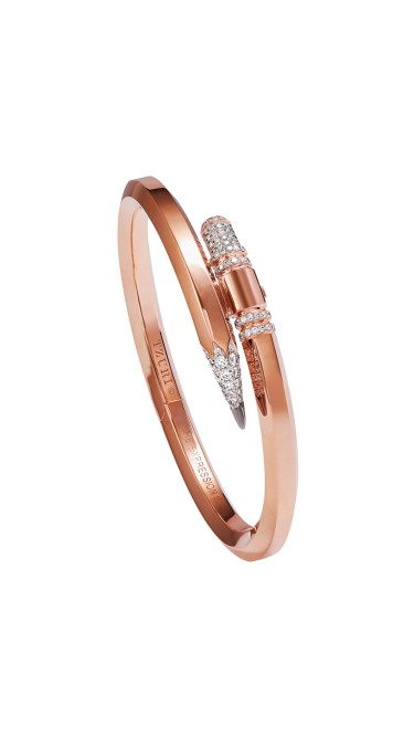 TZURI Rose Gold Medium Signature X4 Bracelet