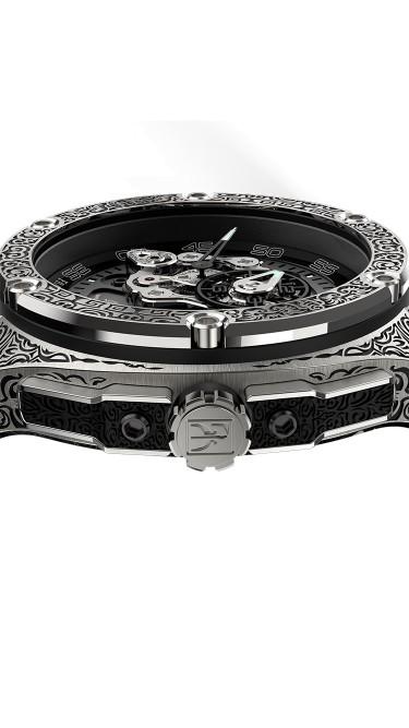 Franck Dubarry Crazy Wheel CW-0406 43.5mm Mens Watch (Pre-Order)