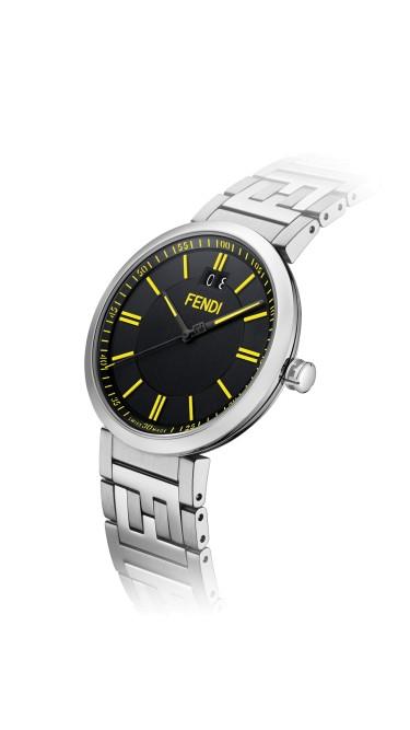 Fendi Timepieces Black 39 mm F105010501
