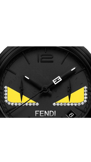 Momento Fendi Bugs Black 40 mm F214611611D1