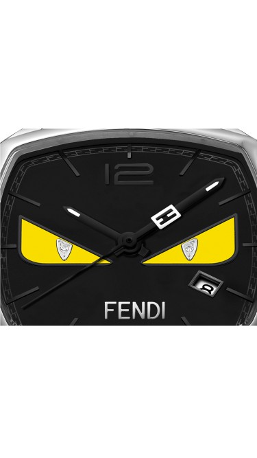 Momento Fendi Bugs Black 31.5x32 mm F222031611D1