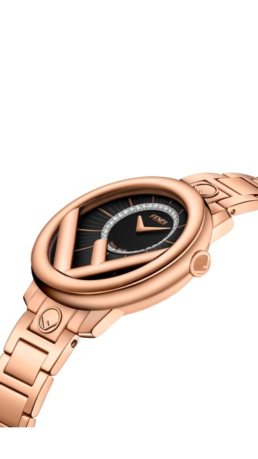 Fendi Timepieces Black 28 mm F711521000D2